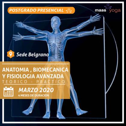 Anatomia, Fisiologia y Biomecanica Avanzada