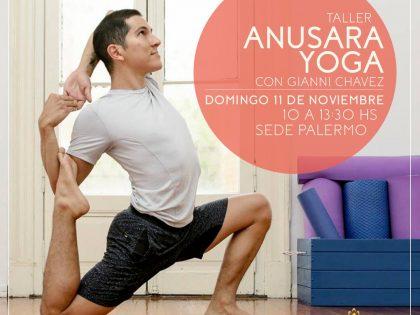 Taller de Anusara yoga
