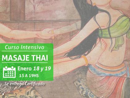 Intensivo de Masaje Thai