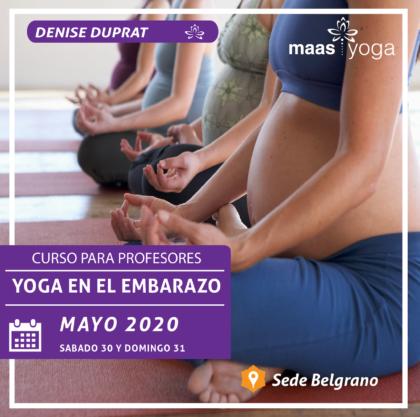 Curso de Postgrado de Yoga y Embarazo
