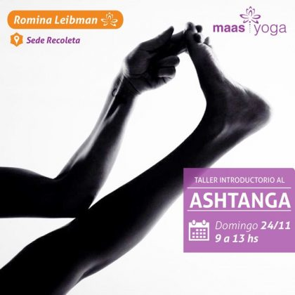 Taller Introducción al  Ashtanga
