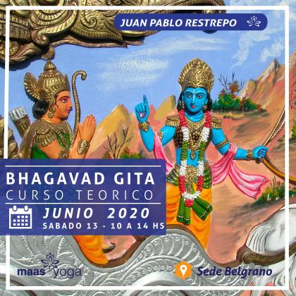 Taller sobre el Bhagavad Gita