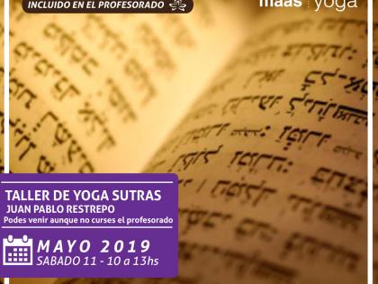 Taller Sobre los Yoga Sutras