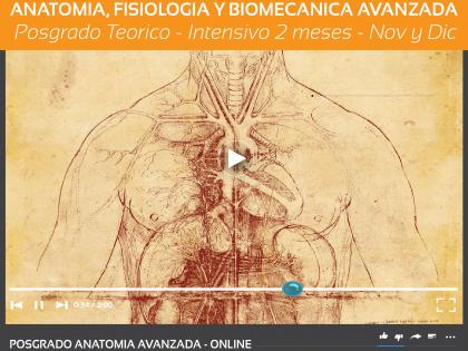 Anatomia avanzada aplicada al Yoga – Online