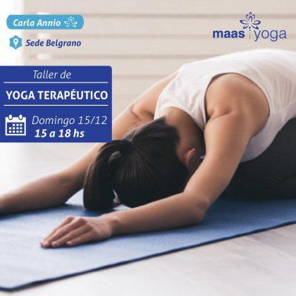 Taller Yoga Terapeutico