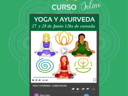 Curso Intensivo de Yoga y Ayurveda