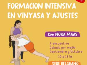 Formacion  en Vinyasa y Ajustes