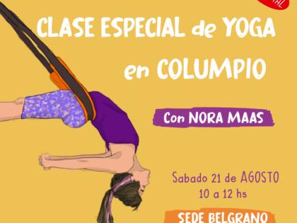 Clase especial de Yoga en Columpio